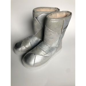 Classic Silver Glitter Ugg Boots